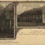 Pocztówka wydana w języku esperanto, przedstawiająca dom Ludwika Zamenhofa.