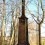 Ustawiony w 1879 roku metalowy krzyż przez jednego z fundatorów, Piotra Piekuta.