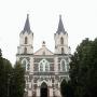 Kościół par. p.w. Wniebowzięcia NMP z 1881 roku.