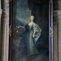 Portret Izabelli Branickiej z Poniatowskich namalowany przez nadwornego malarza Branickich Sylwestra Mirysa.