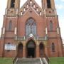 Kościół Parafialny pw. NMP w Rajgrodzie.