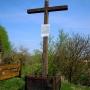 Krzyż poświecony Łukaszowi Górnickiemu i miejsce po dawnym klasztorze Bernardynów