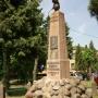 Łosice - Pomnik ufundowany dla Marszałka Józefa Piłsudskiego
