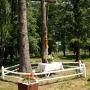Janów Podlaski Wygoda - krzyż, kaplica na terenie stadniny
