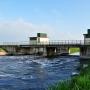 Śluza na rzece Narew