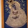 Rokitno - zabytkowa cerkiew unicka, ob. kościół p.w. Świętej Trójcy, Matka Boska z ziarna