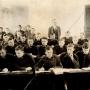 Państwowa Szkoła dla Leśniczych w Białowieży, mieściła się w zachodnim skrzydle pałacu. 1932/1933