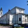 Kościół . par. p.w. śś. Apostołów Piotra i Pawła (dawna cerkiew garnizonowa) z 1900r.