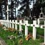 Zbiorowa mogiła zamordowanych przez hitlerowców 24 mieszkańców Jamin.