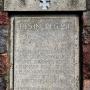 Pomnik niemieckiego 251 rezerwowego pułku piechoty z I wojny światowej.