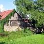 Drewniany młyn wodny z XIX w.