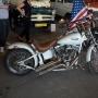 Podczas prezentacji amerykańskich pojazdów nie mogło zabraknąć legendarnego Harleya Davidsona.