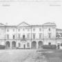 Pocztówka z okresu zaborów (ok. 1914 - 1916) - siedziba Instytutu Cara Mikołaja I.