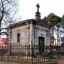 Kaplica grobowa rodziny Zachertów.