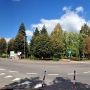 Widok na rynek od ulicy Grochowej i Garbarskiej.