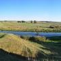 Widok z Góry Zamkowej na dolinę rzeki Narew.