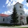 Kościół pod wz. św. App. Piotra i Pawła w Trzciannem - widok od północnego zachodu - fot. R. K. Wejda