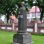 Pomnik Joachima LitaworaChreptowicza zaprojektowany i wykonany był osobiście przez Karola Brzostowskiego (wnuka tegoż).