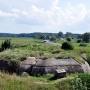 Ciężki schron bojowy zbudowany w okresie II Rzeczypospolitej.