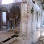 """Pałacyk letni """"Syberia"""" w trakcie odbudowy."""
