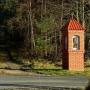 Przy leśnej dróżce do Łapicz, obok trasy Krynki-Kruszyniany.