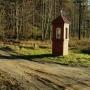 Asfaltówką do Kruszynian a leśną drogą do Łapicz.