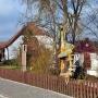 Oprócz głównego budynku (Dworku Zacherta), poniżej na skarpie znajduje się drugi obiekt, gdzie również prezentowana jest ekspozycja prezentująca drzewa występujące w Puszczy Knyszyńskiej.