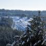 Uroki zimy w Ogrodniczkach. Styczeń 2012.