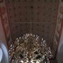 wnętrze kościoła parafialnego p.w. św. Andrzeja Apostoła, sklepienie tunelowe.