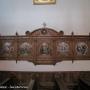 wnętrze kościoła parafialnego p.w. św. Andrzeja Apostoła.