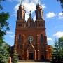 Kościół pw. św. Bartłomieja i Andrzeja. Fot. Ewa i Marek Wojciechowscy. Wikimedia Commons.