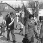 Pochód majowy lata 60`, ulica Jagielońska