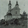 Kościół pokamedulski. Zdjęcie pochodzi z książki