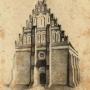 Cerkiew zamkowa. Ilustracja z książki J.I. Kraszewskiego