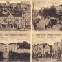 Pocztówka z najciekawszymi obiektami Białegostoku z okresu zaborów.Ze zbiorów J. Murawiejskiego