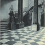 Hol wejściowy Pałacu Branickich. Pocztówka z 1904 roku ze zbiorów J. Murawiejskiego.