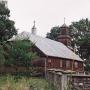 Drewniana kaplica z 1928 roku.
