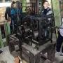 Oto serce Bramy Wielkiej- mechanizm, który wprawia w ruch wskazówki zegara na wieży. Robi to od 250 lat (z pewnymi przerwami) i jest jedynym tak starym mechanizmem na Podlasiu.