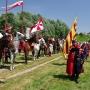 1 lipca 2012 roku wzgórze zamkowe otoczyły wojska historyczne. Odbyło się to podczas XXI dni Gminy Mielnik. Oprócz widocznej tu Komputowej Chorągwi Stefana Czarnieckiego pojawiła się husaria, Kozacy, Tatarzy i szlachta z Pospolitego ruszenia.