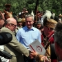 Podczas pikniku historycznego odbywającego się 1.07.2012r można było obejrzeć rekwizyty z filmu