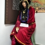 Muzeum Ziemi Sokólskiej- dział tatarski. Rekonstrukcja tradycyjnego ubioru kobiety tatarskiej z XIX i XX w.