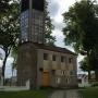 Dzwonnica wybudowana przez parafian w latach 70 - tych XX wieku.