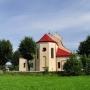 Kościół parafialny pw. Przemienienia Pańskiego z 1954 roku.