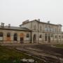Dworzec kolejowy z 1873 roku.