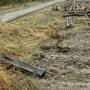 Tu był torpo polskiej (zachodniej) stronie rampy.
