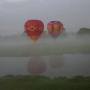 Loty balonem -Tykocin, rzeka Narew,
