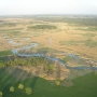 Loty balonem, rzeka Bug i okolice.