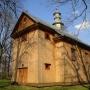 Cerkiew unicka, ob. kościół rzym.kat. p.w. Zmartwychwstania Pańskiego z 1728r..
