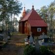 Cerkiew cment. p.w. Podwyższenia Krzyża Św. i kapliczka św. Paraskiewy